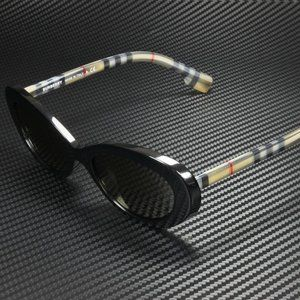 Burberry Black and Brown 54mm Sunglasses